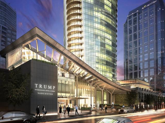 Trump International Hotel And tower, Downtown VW, Vancouver West